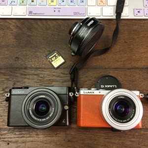 Panasonic Lumix GM1 et GM5