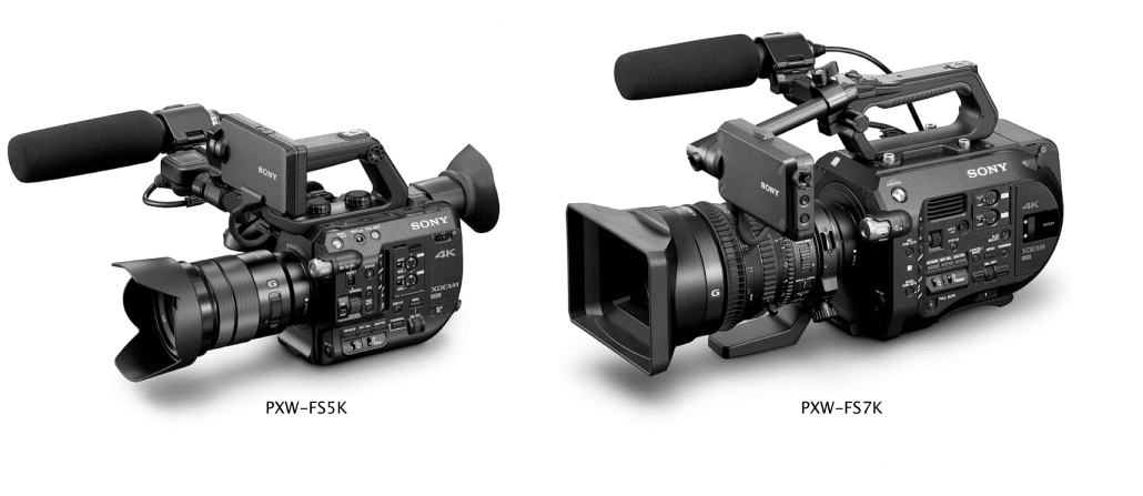 Sony-FS5-size
