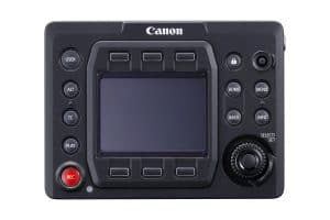 EOS C700 Ctrl panel FRT